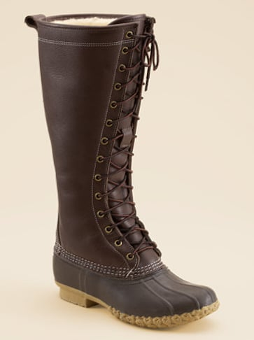 L.L. Bean Shearling Lined Boot ($299)