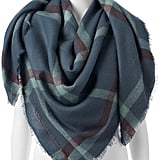 Lauren Conrad Plaid Blanket Square Scarf