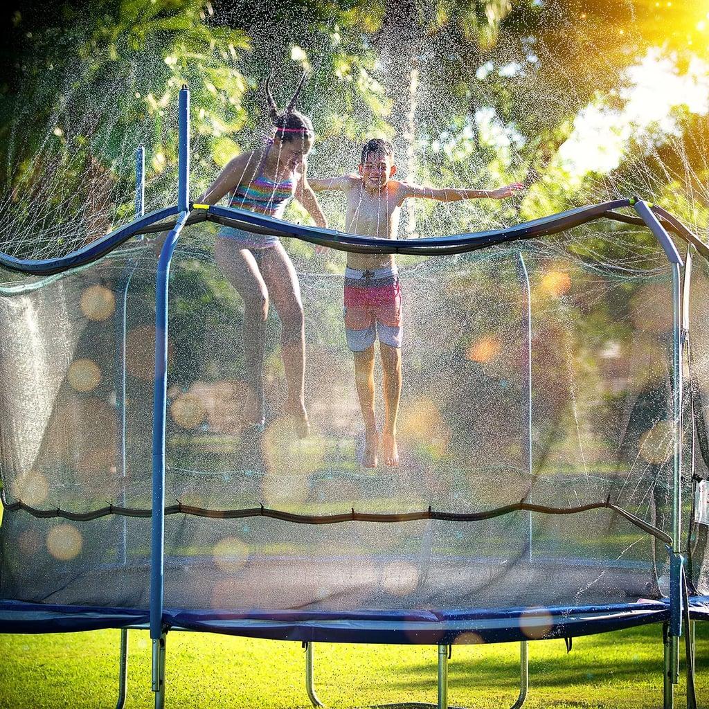 ThrillZoo Trampoline Sprinkler Trampoline Waterpark