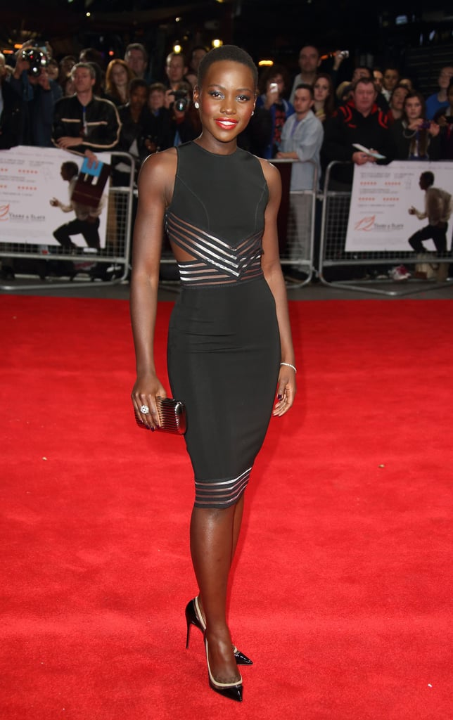 Lupita Nyong'o at the London Premiere of 12 Years a Slave