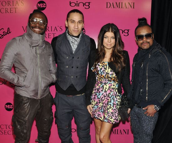 Slide Photo of The Black Eyes Peas at Victoria's Secret Afterparty