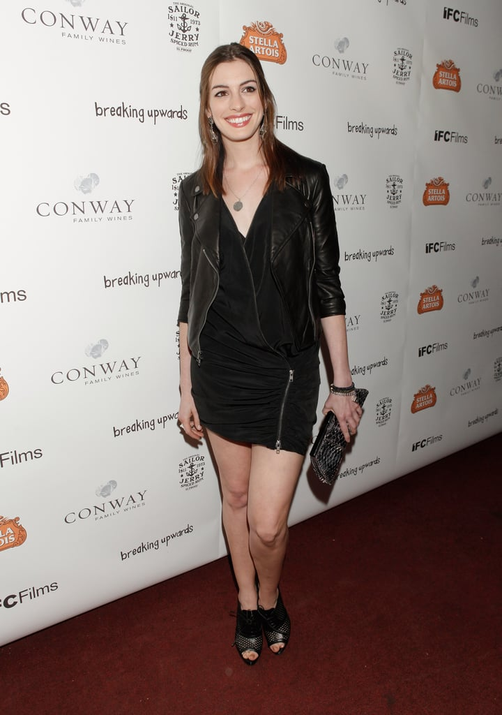 Sexy cool for the 2010 Breaking Upwards premiere.
