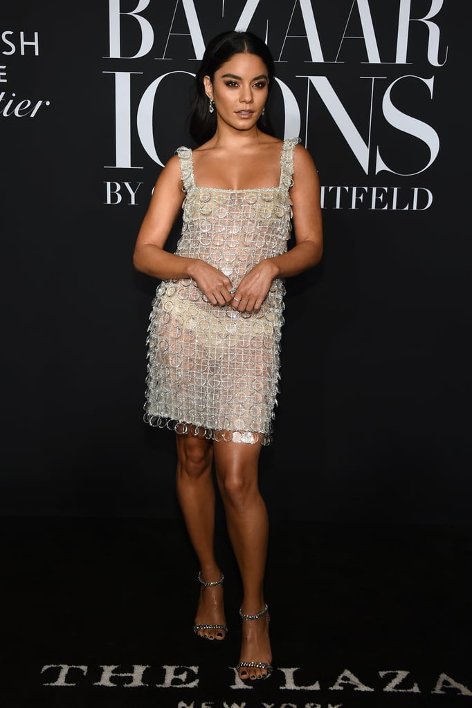 Vanessa Hudgens at the Harper's Bazaar ICONS Party During New York Fashion Week
