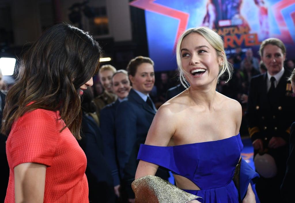 Brie Larson Gallery: Brie Larson At Captain Marvel London Premiere February