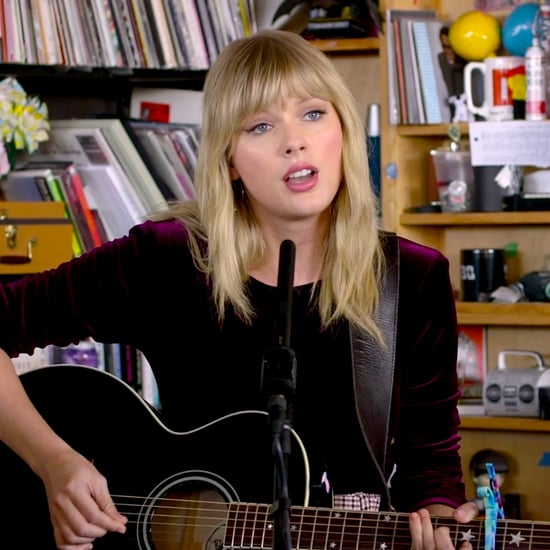 Taylor Swift Performs in NPR's Tiny Desk Concert Video