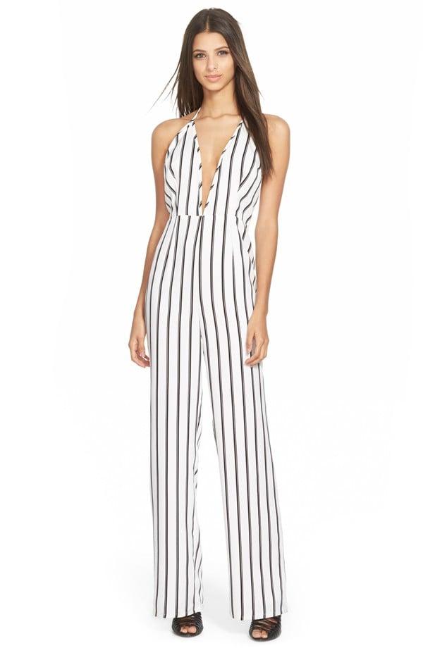 Missguided Stripe Jumpsuit ($84)
