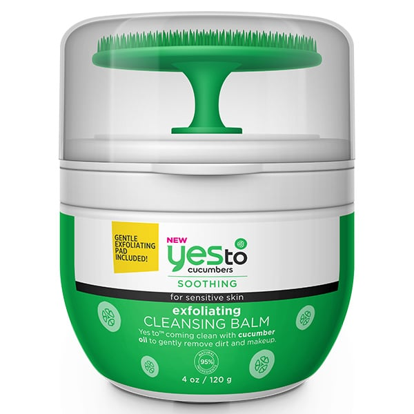 Yes To Cucumbers Exfoliating Cleansing Balm