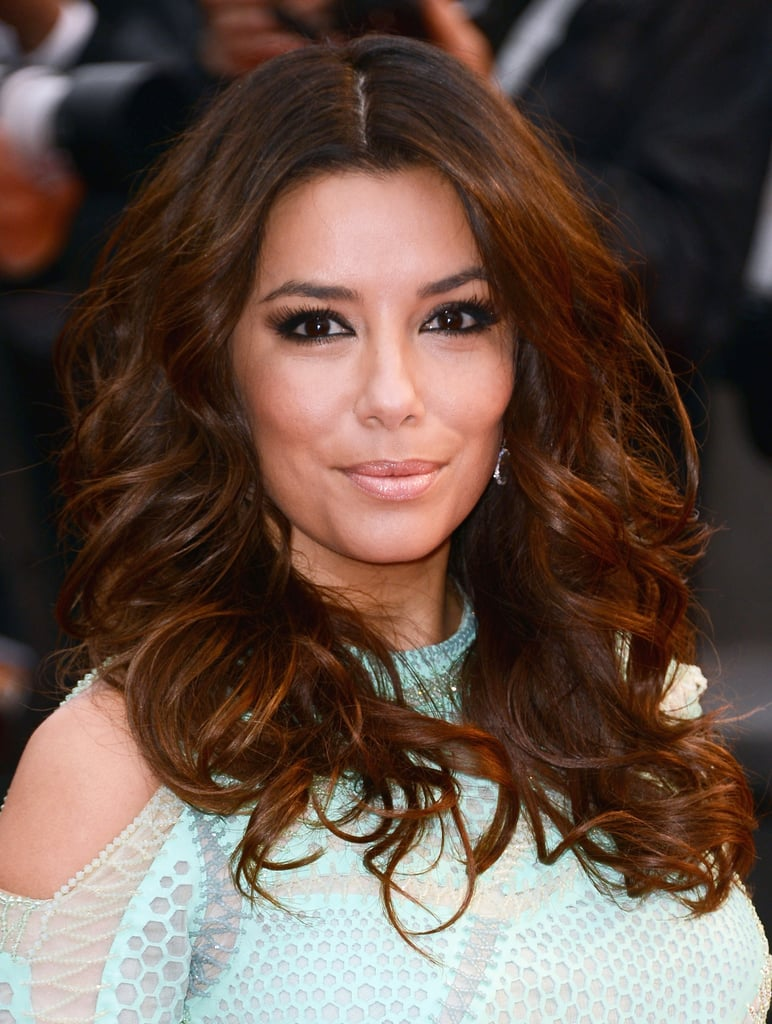 For the premiere of Jimmy P. (Psychotherapy of a Plains Indian), Eva Longoria opted for voluminous waves accented with a neutral smoky eye. To create the standout eye makeup, Eva's eyes were shaped and contoured with the L'Oreal Colour Riche Eye Shadow Quad in Perfume ($8), and her eyes were defined using Infallible Lacquer Liner 24H in Blackest Black ($10).