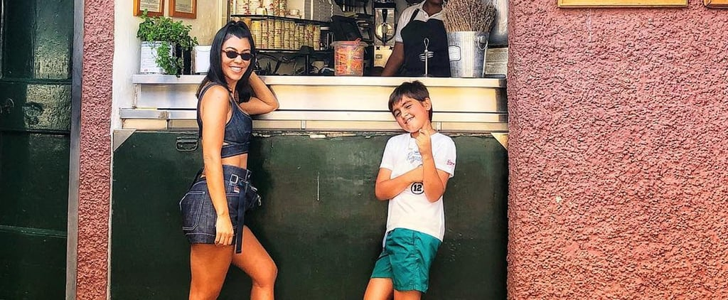 Kourtney Kardashian Mom-Shamed on Vacation