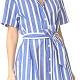 Show off your curves by wearing a belted dress like this striped Ruken Jenny Dress ($185).