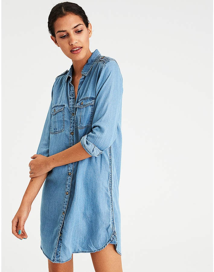 23f8d99d05 American Eagle Outfitters Denim Dress
