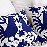 Blue Bird Otomi Cushions