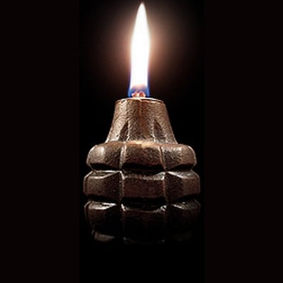 Love It or Hate It? Hand Grenade Oil Lamp