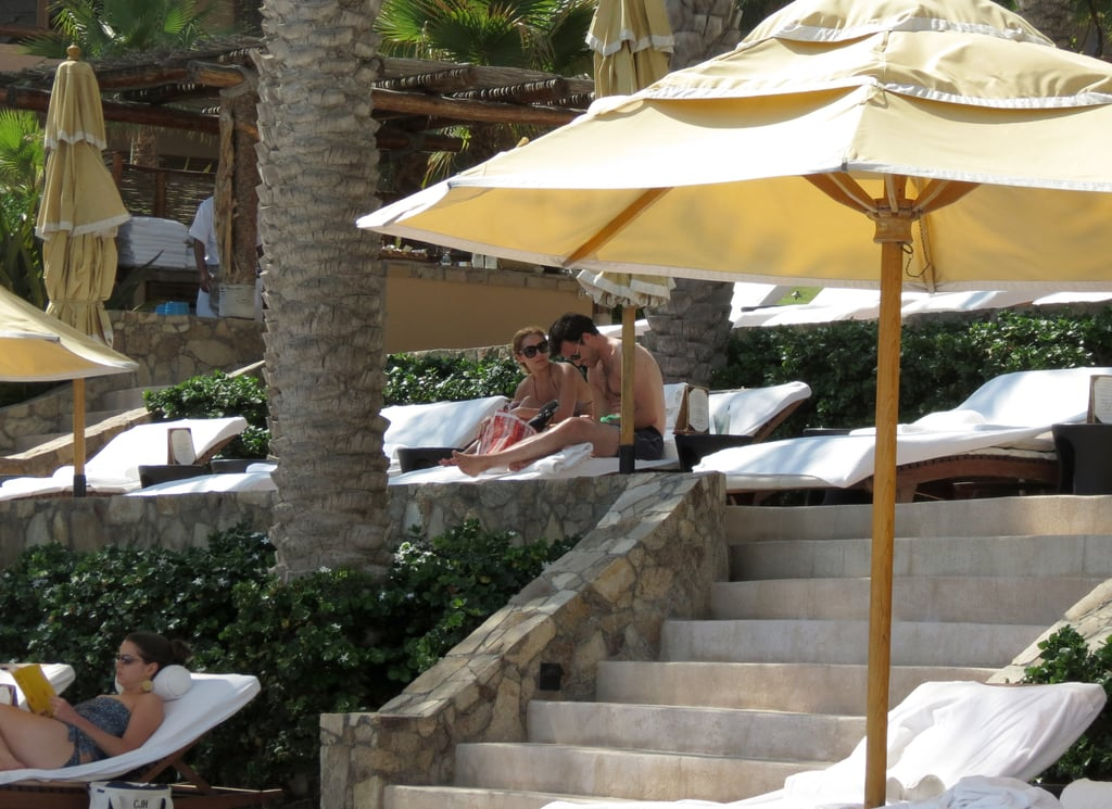 Lauren Conrad vacationed in Cabo with William Tell.