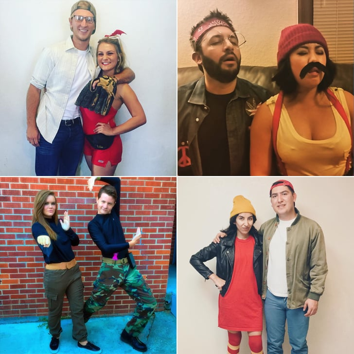DIY Nostalgic Costumes For Couples