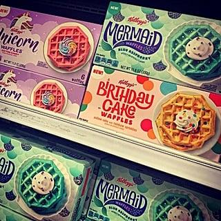 Hello, Sugar Rush! Kellogg's Dropped Mermaid, Unicorn, *and* Birthday Cake Waffles