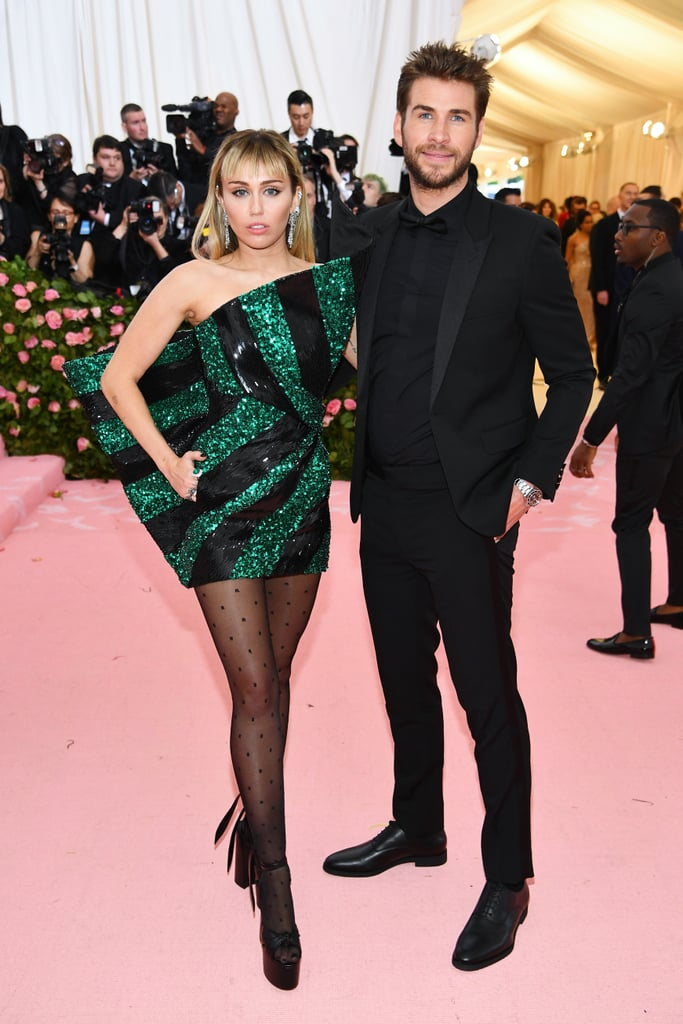 Miley Cyrus and Liam Hemsworth Wore the Same Designer at the Met Gala, and I'm SWOONING