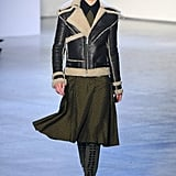 A cool shearling from Rodarte.
