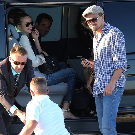 Leonardo DiCaprio and Toni Garrn in France | Photos