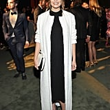 Elizabeth Olsen Wore a Textured Duster Coat to the 2016 LACMA Art + Film Gala