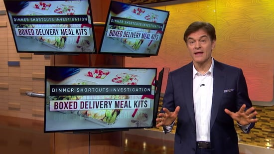 Dr. Oz Dinner Shortcuts Investigation: Are Boxed Delivery Meal Kits Worth It?