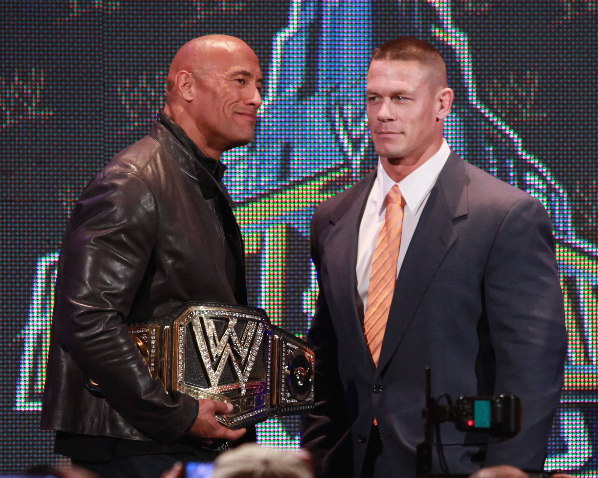 Dwayne Johnson Just Cast John Cena in His New Movie, So the Feud Is Definitely Over