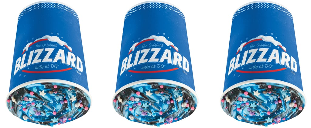 Dairy Queen Out-of-This-World Blue Galaxy Blizzard