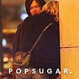 Norman Reedus and Diane Kruger Confirm Their Romance With a Steamy Kiss