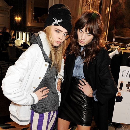 Cara Delevingne at London Fashion Week Fall 2013 (Video)