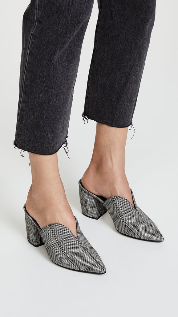 9b54b8bd40e Jeffrey Campbell Complete Plaid Point Toe Pump