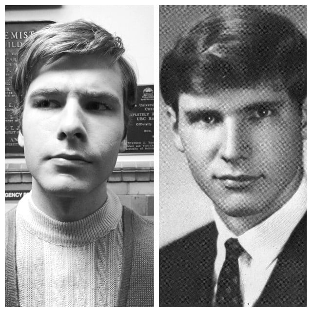 who plays young harrison ford in the age of adaline? | popsugar