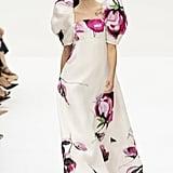 Puffy Sleeves on the Carolina Herrera Runway at New York Fashion Week
