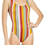 Madewell Second Wave Tank Tie-Dye One-Piece Swimsuit