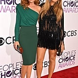 Blake and Robyn Lively at the 2017 People's Choice Awards
