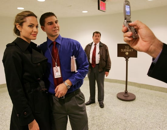 Angelina Jolie Says No Way To Cell Phones In Daycare?