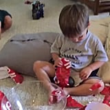 When you get a gift you're not that happy about.