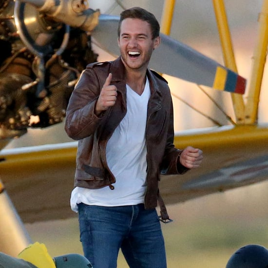 Peter Weber Films a Pilot-Themed Group Date on The Bachelor