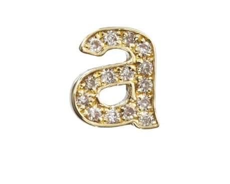 Diamond Lowercase Stud Earring ($950) is a fun twist on the typical monogrammed item. Get a different letter for each ear for each of your initials. — Maria Mercedes Lara, associate editor