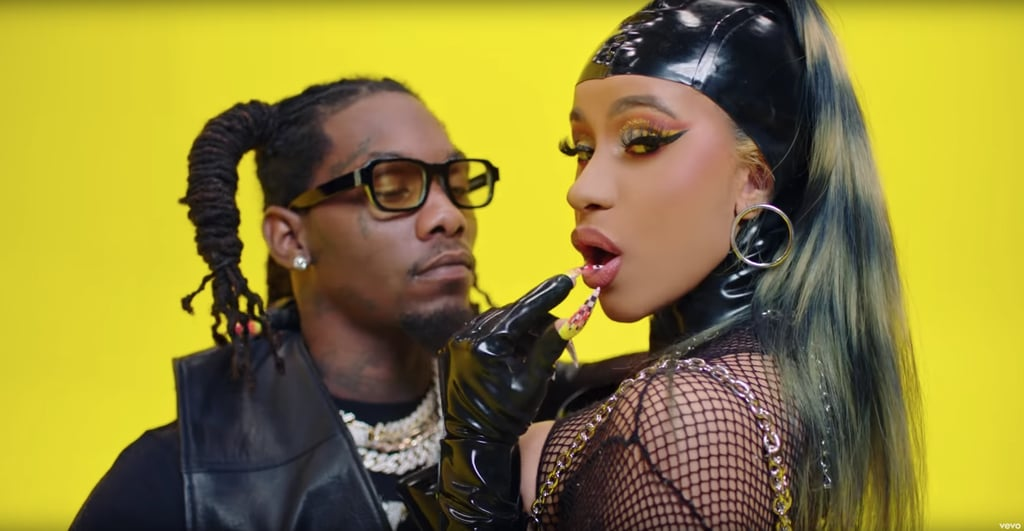 """Cardi B's Hair in the """"Clout"""" Music Video"""
