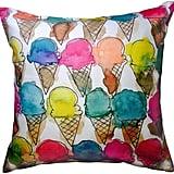Ice Cream Cones Pillow