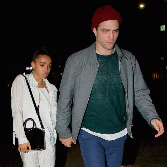 Robert Pattinson and FKA Twigs at JFK | Pictures