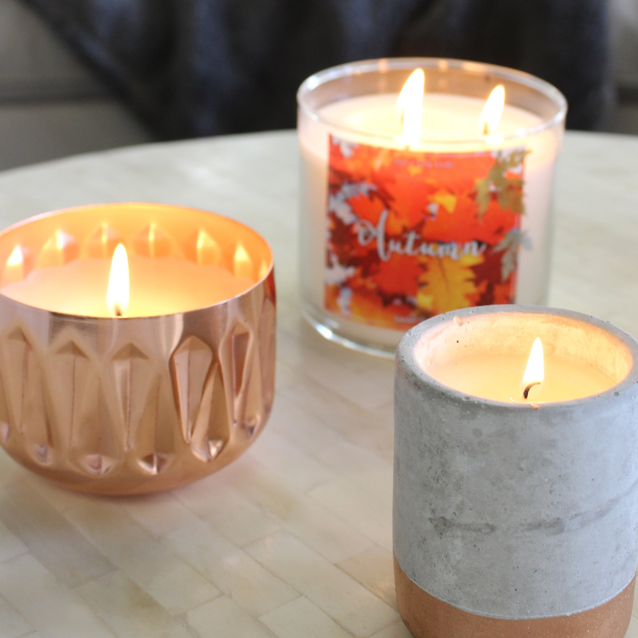illume woodfire best fall candles of 2016 popsugar home photo 2