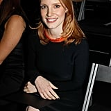 Jessica Chastain was overseas during the Oscars announcement.