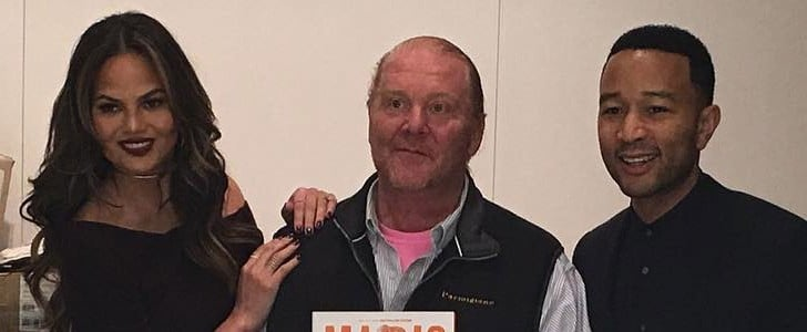 Mario Batali and Chrissy Teigen Had Dinner Together, and This Is What Happened