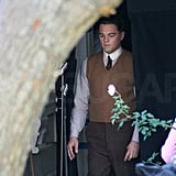 Leonardo DiCaprio Suits Up For a Night Shoot With Armie Hammer
