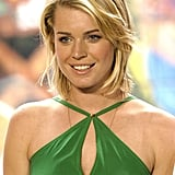 Rebecca Romijn made a TRL appearance in 2003.