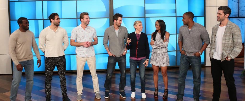 The Bachelorette's Rachel Goes on a Group Date . . . on The Ellen Show