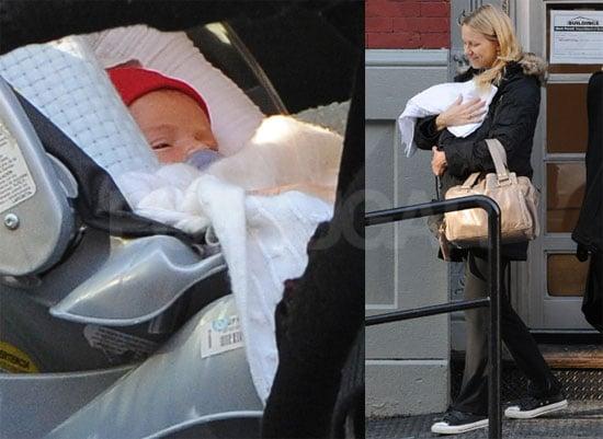 First Photos of Naomi Watts and Liev Schreiber's New Baby Samuel