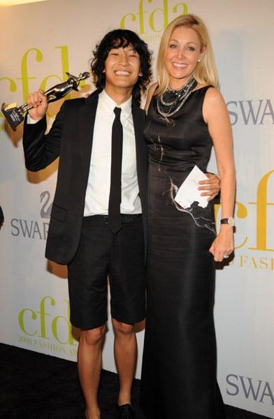 Alexander Wang and Nadja Swarovski