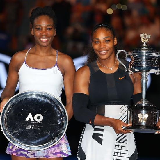 Serena and Venus Williams Speeches at Australian Open 2017